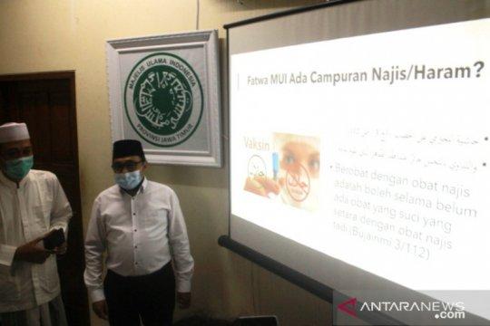 MUI Jatim: Vaksinasi siang hari tidak batalkan puasa
