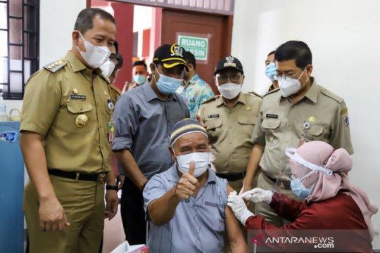Sekda DKI : Lansia antusias ikut vaksinasi di Jakarta Utara