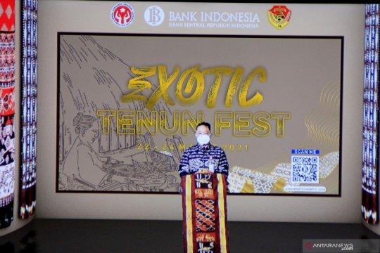 Gernas BBI, 960 tenun NTT dipamerkan pada Festival Exotic Tenun 2021