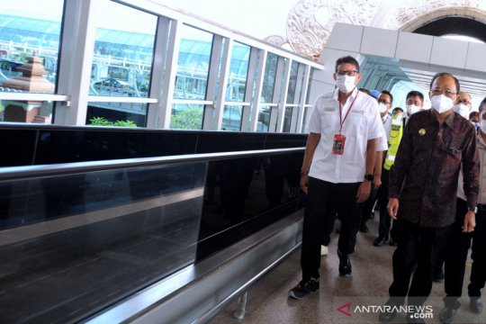 Sandiaga Uno: Penerbangan internasional Bali dibuka dengan simulasi