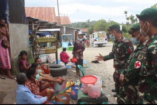Satgas Pamtas RI-Timor Leste intensif berpatroli sosialisasi prokes