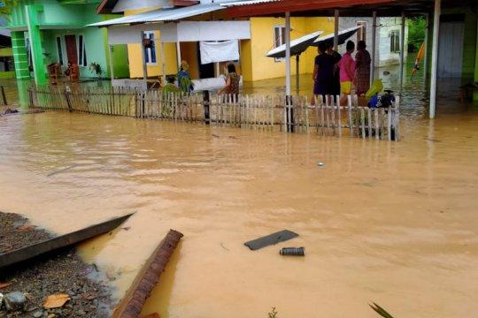 Wilayah barat Gorontalo Utara terendam banjir