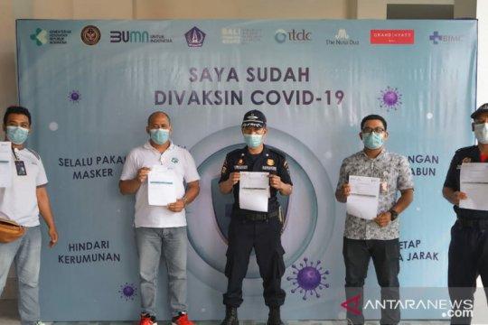 Kawasan The Nusa Dua laksanakan vaksinasi untuk wujudkan zona hijau