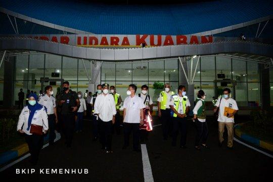 Menhub cek terminal penumpang baru Bandara Kuabang Halmahera Utara