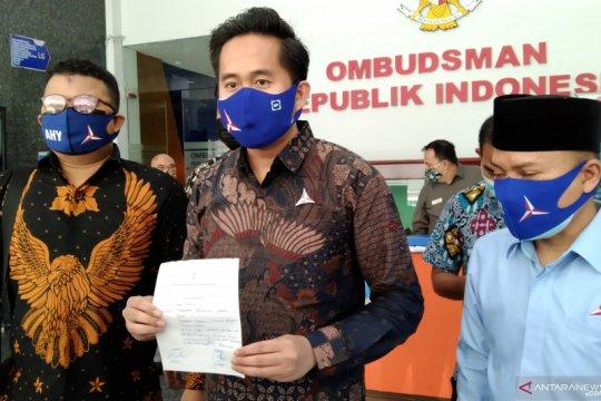 Pengurus Demokrat laporkan dugaan maladministrasi ke Ombudsman