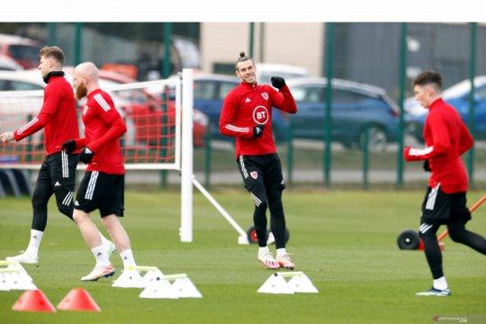 Wales berlatih jelang kualifikasi PIala Dunia FIFA 2022