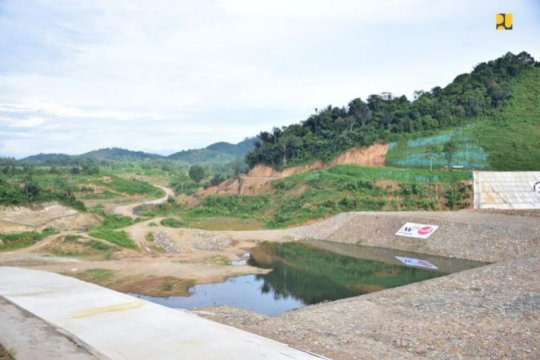 Kementerian PUPR targetkan Bendungan Way Sekampung rampung Juli 2021