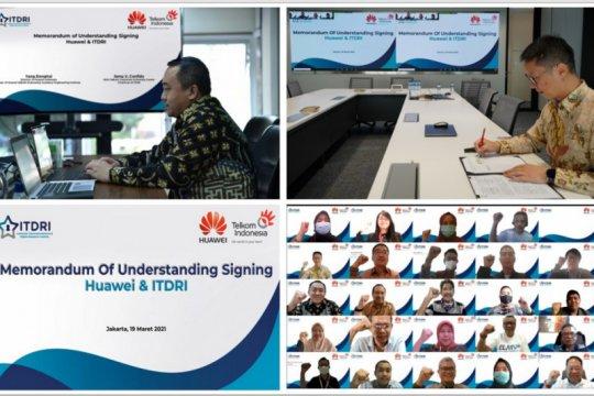 Telkom gandeng Huawei perkuat komitmen pemberdayaan talenta digital