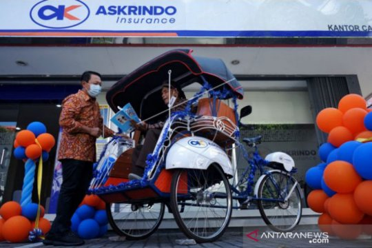 Askrindo serahkan becak pustaka bertenaga listrik di Yogyakarta