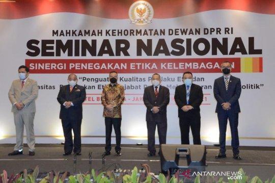 Anggota DPR: MKD berkontribusi tegakan aturan etika pejabat publik