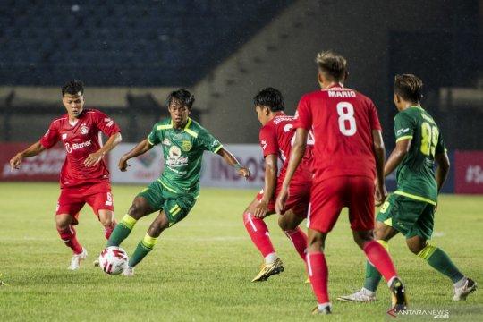 Piala Menpora: Persebaya Surabaya kalahkan Persik Kediri 2-1