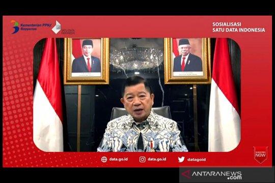 Menteri PPN: Satu Data Indonesia wujudkan transformasi digital