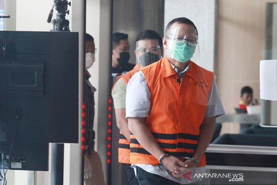 Pengadilan terima berkas dakwaan eks Menteri KKP Edhy Prabowo