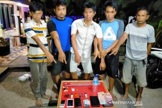 Polda NTB tetapkan lima tersangka peredaran narkoba di Lombok Timur