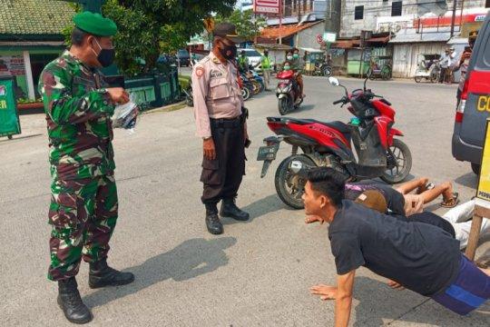 Satgas COVID-19 Tangerang tindak tegas pelanggar prokes masa PPKM