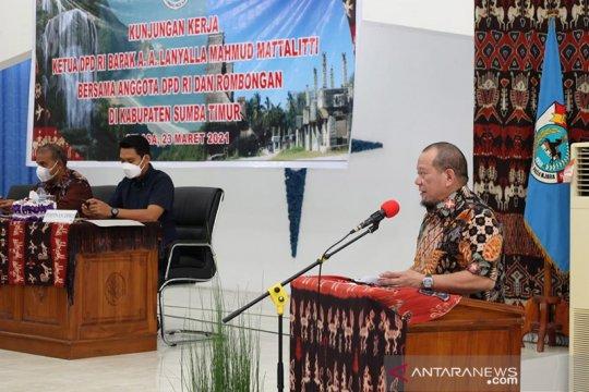 Ketua DPD dorong Sumba Timur optimalkan pengembangan rumput laut