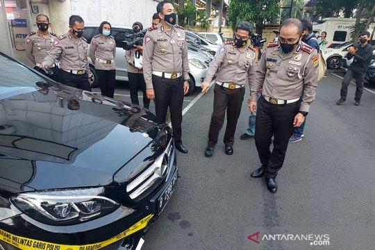Mobil pelaku tabrak lari di Kelapa Gading bukan kendaraan dinas