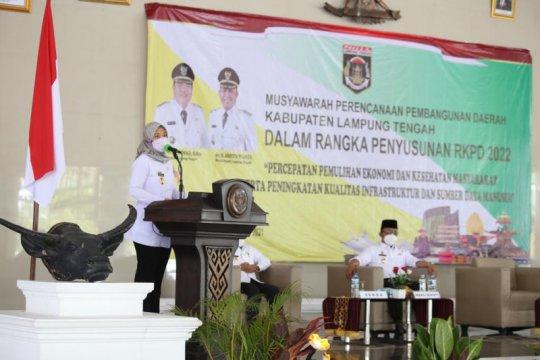 Wagub Lampung dorong program pertanian bersinergi dengan kartu petani