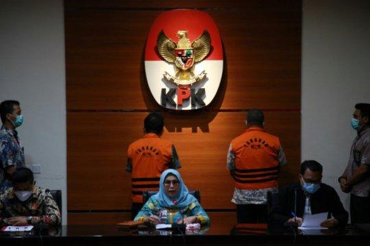 KPK menahan dua pejabat BPN terkait kasus dugaan gratifikasi dan TPPU
