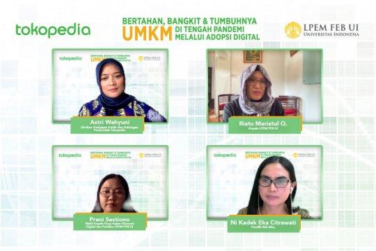 Penjualan secara daring di luar Jawa meningkat selama pandemi
