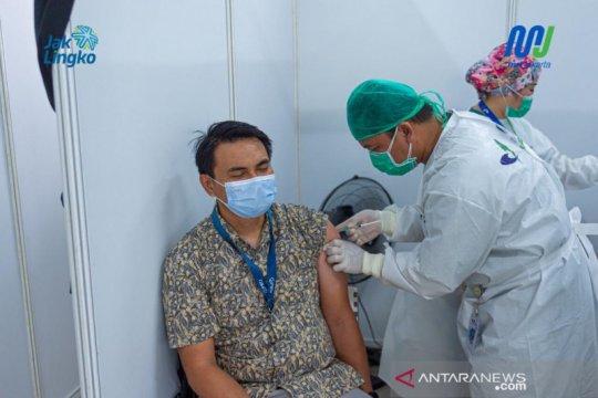 Sambut Lebaran, MRT Jakarta kembali lakukan vaksinasi seluruh petugas
