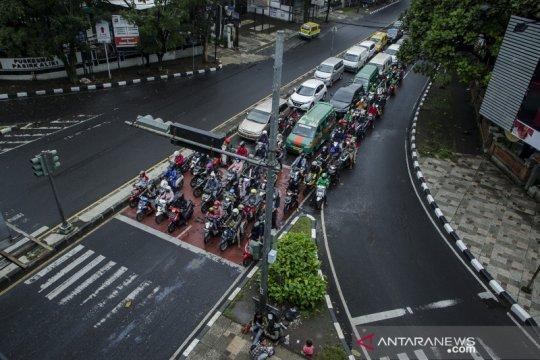 Lokasi penerapan tilang elektronik di Bandung