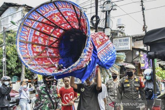 Jakarta sepekan, larangan mudik hingga penertiban ondel-ondel