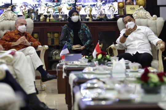 Prancis-Surabaya jalin kerja sama bidang pendidikan dan kebudayaan