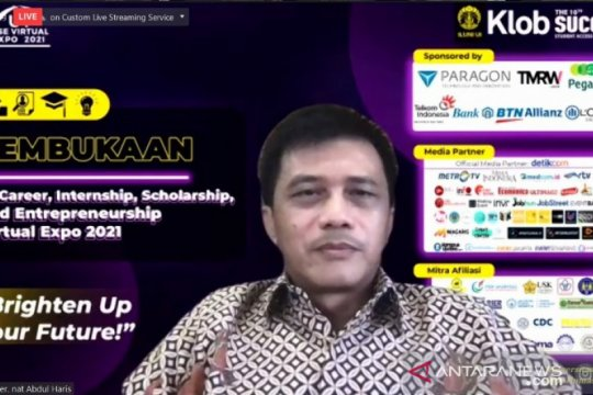 UI gelar pameran virtual bursa kerja dan wirausaha 2021
