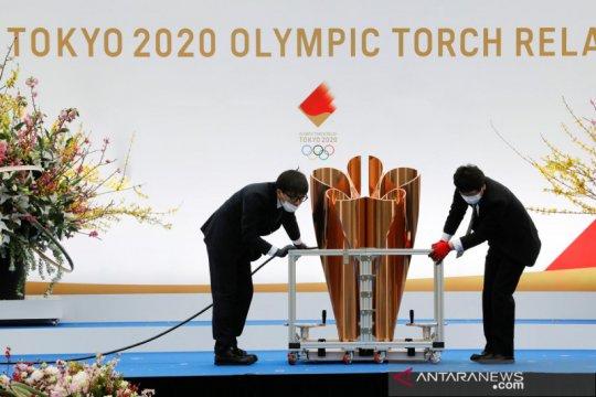 Penyelenggara Olimpiade laporkan kasus COVID-19 pertama di kirab obor