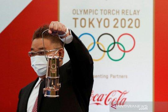 Estafet obor Olimpiade Tokyo 2020