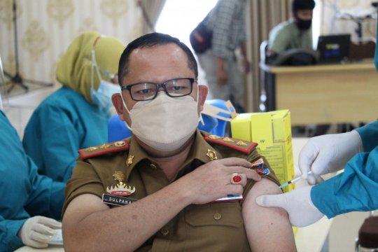 Sudah 59.697 petugas pelayanan publik peroleh vaksin di Lampung