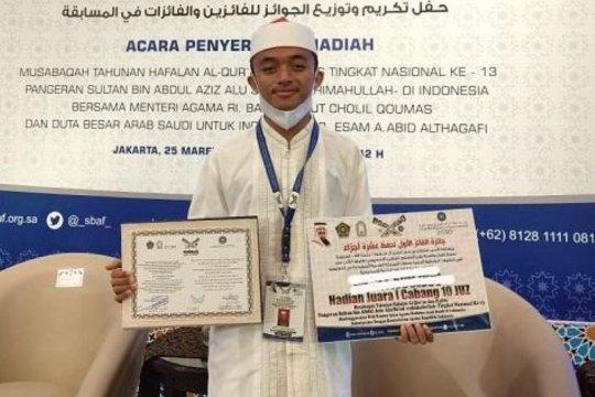 Riau sabet juara I Musabaqah Hafalan Al-Quran nasional