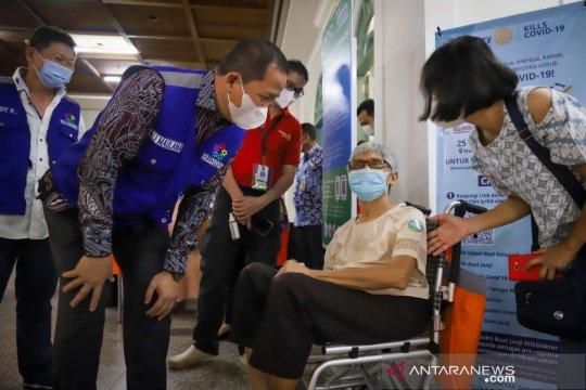 Wali Kota apresiasi kolaborasi vaksinasi dinamis di Jakarta Utara