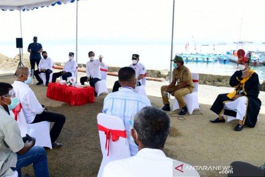 Dialog menarik Presiden Jokowi dengan nelayan-pedagang Maluku Tengah
