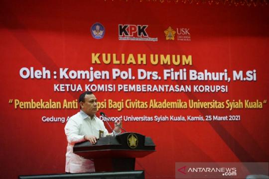KPK tangani 14 kasus tindak pidana korupsi di Aceh