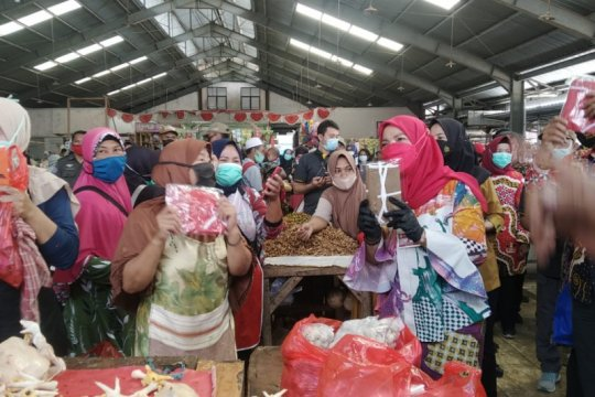 Bandarlampung optimistis Pasar Tani jadi pasar terbaik-aman nasional