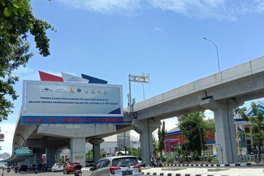 Tarif baru Tol Layang Pettarani Makassar dijadwalkan berlaku 3 April