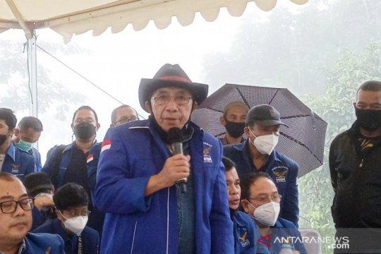 Max Sopacua ungkap alasan PD versi KLB jumpa pers di Hambalang