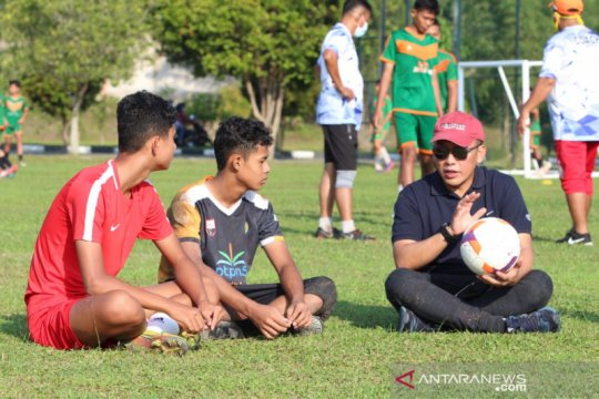 Sebanyak 16 pesepakbola Riau berpeluang tembus Timnas U-16