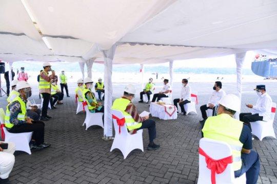 "Presiden Jokowi dengarkan ""curhat"" pengusaha perikanan Maluku"