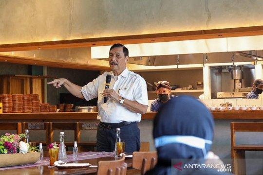 Luhut sampaikan rencana pembangunan stadion atletik di Pangalengan