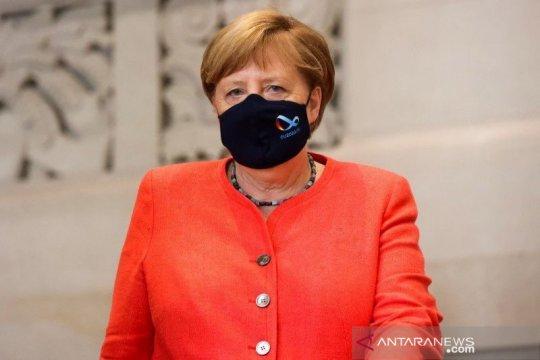 Merkel: Uni Eropa butuh kapasitas produksi vaksin lebih banyak