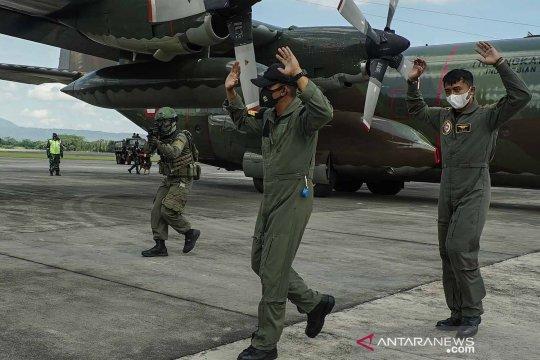 Latihan pertahanan Pangkalan Udara Adisucipto