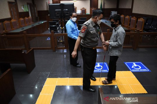 Fasilitas untuk penyandang disabilitas di PN Jakarta Pusat