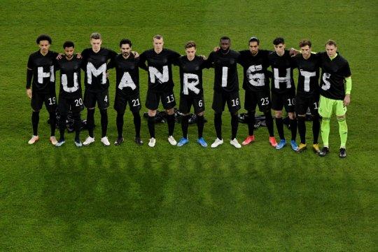 FIFA tak hukum Jerman karena protes HAM terhadap Qatar