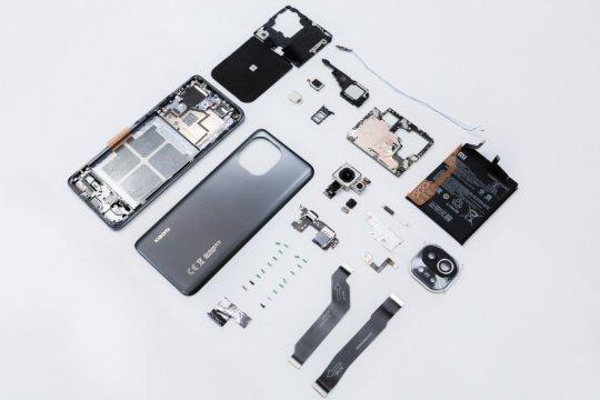 Xiaomi buka-bukaan komponen Mi 11
