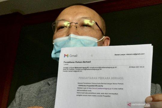 Jhoni Allen layangkan protes ke PN Jakpus karena perubahan gugatan