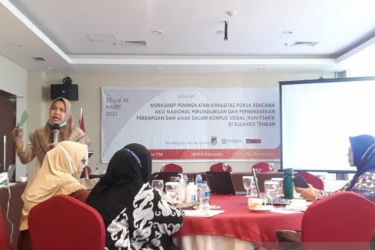 Libu-AMAN bantu Pemda Sulteng lindungi perempuan dalam konflik sosial