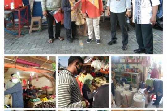 Sudin KPKP sidak Pasar Nangka uji kelayakan produk pangan